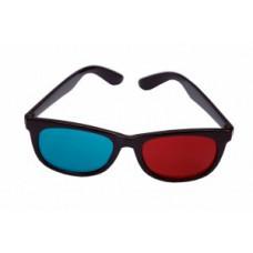 3D bril rood/cyaan geharde glazen